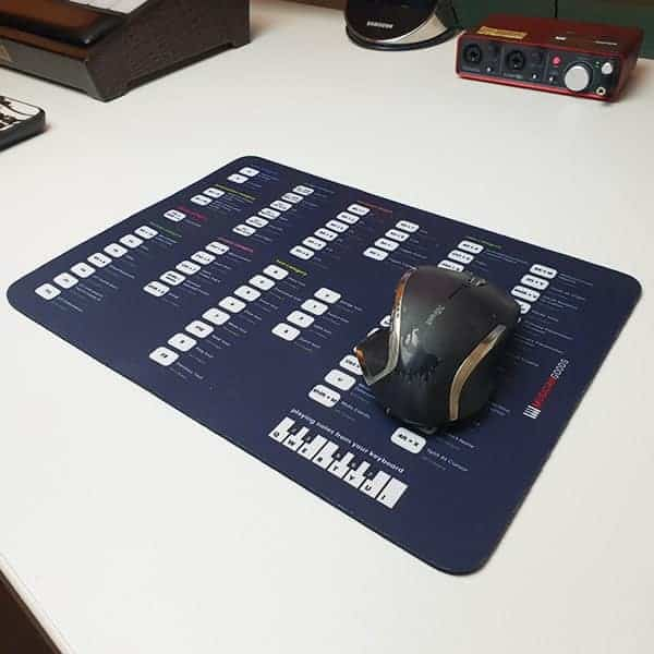 Ableton Live Keyboard Shortcuts Mousepad