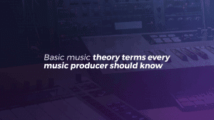 Basic music theory terms you should know