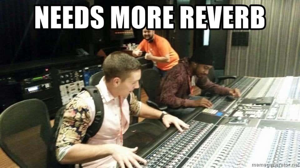 needs more reverb