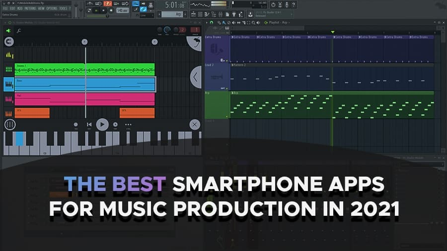 the best mobile apps for music production
